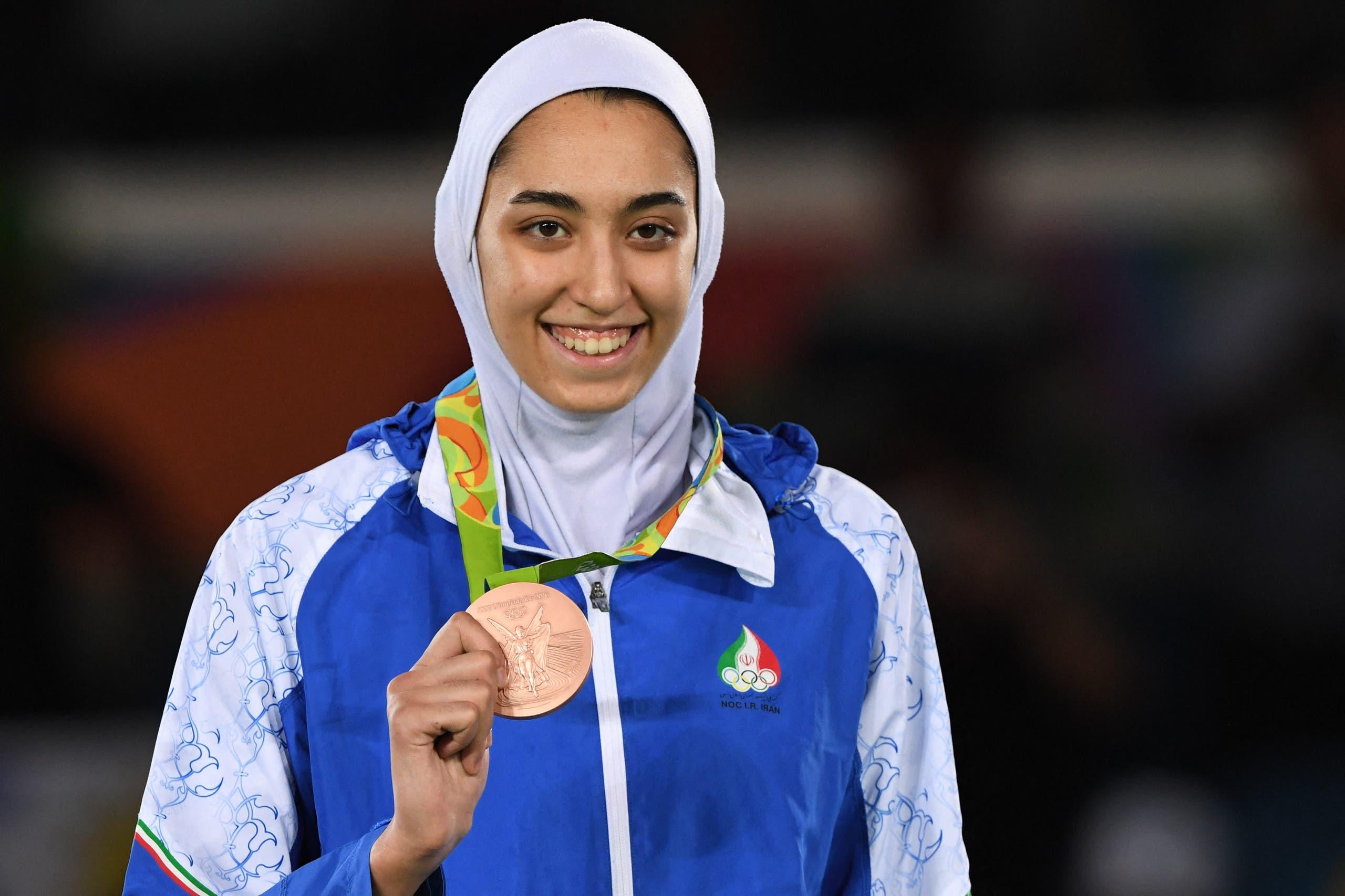 كيميا تفوز بالميدالية البرونزية في 2016