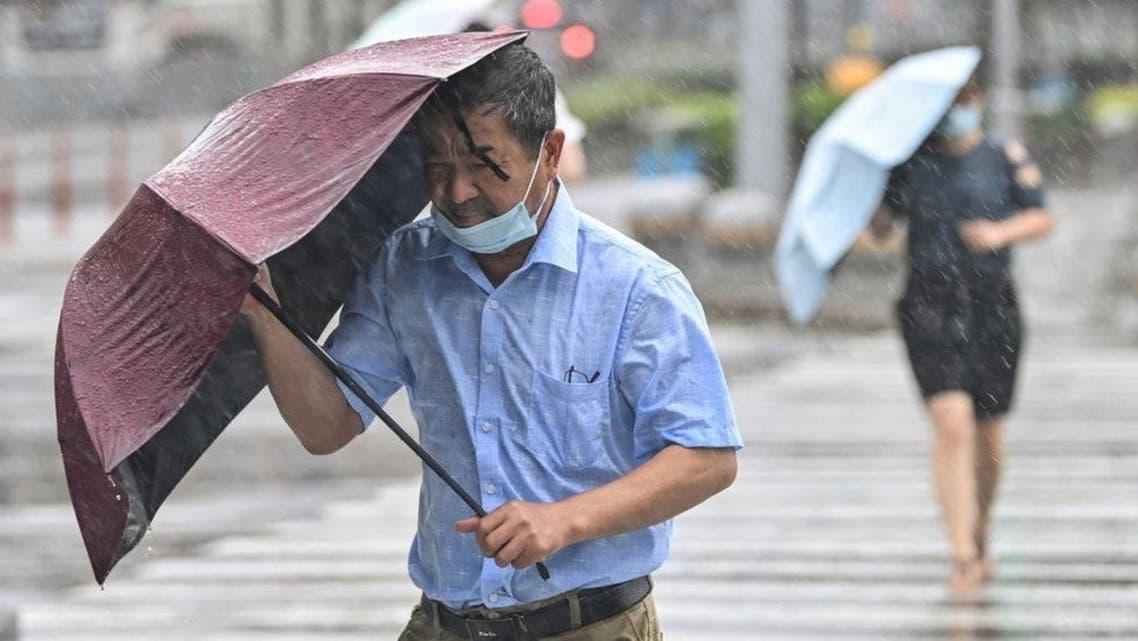 من إعصار الصين