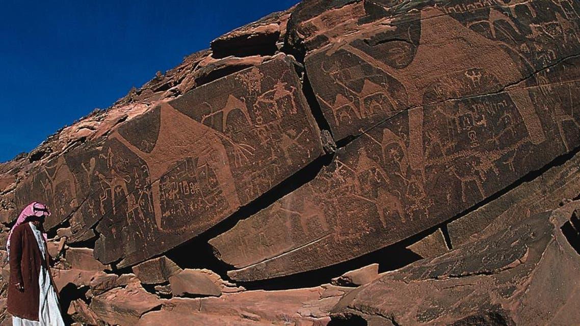 Rock Art is the fourth listing of Saudi heritage sites on the World Heritage list. (Courtesy: Saudi Aramco World)