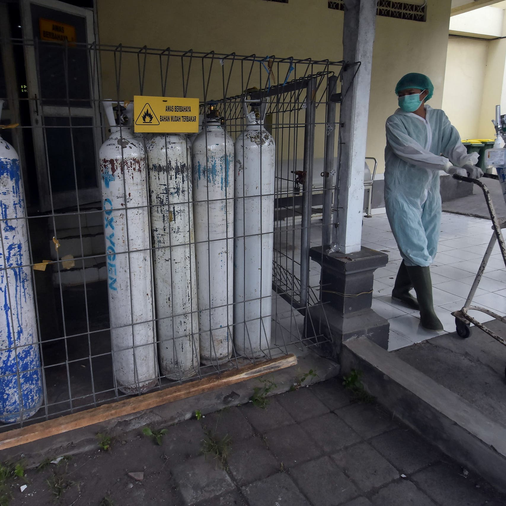 Indonesia prepares more ICU units after logging record-high COVID-19 deaths