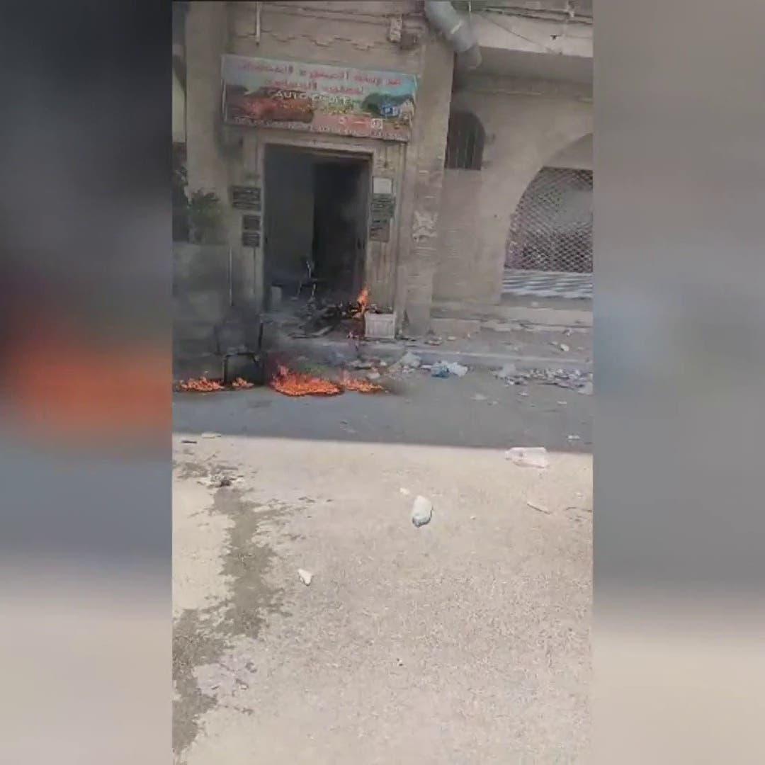 تونس.. إصابة عدد من رجال الأمن وحرق مدرعة في مواجهات مع محتجين