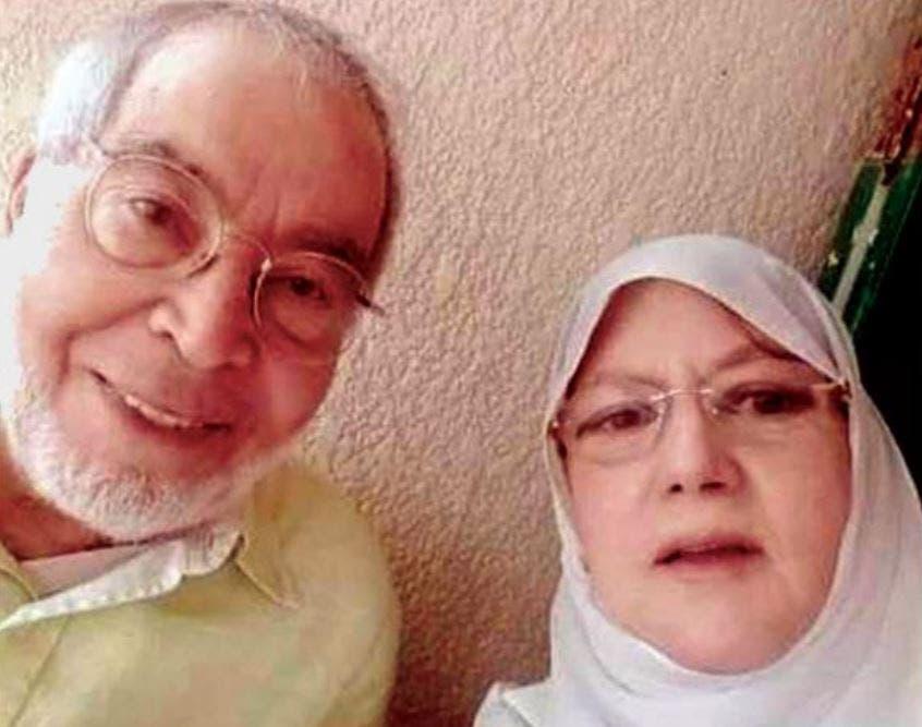 الفنان حسن يوسف وزوجته الفنانة المعتزلة شمس البارودي