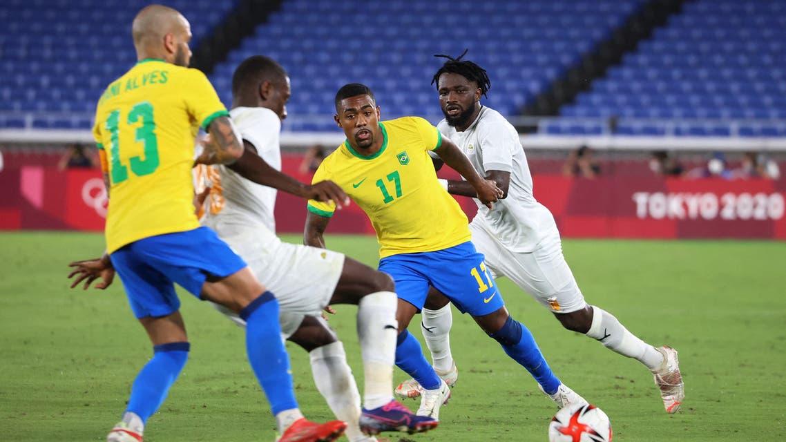 البرازيل ساحل العاج