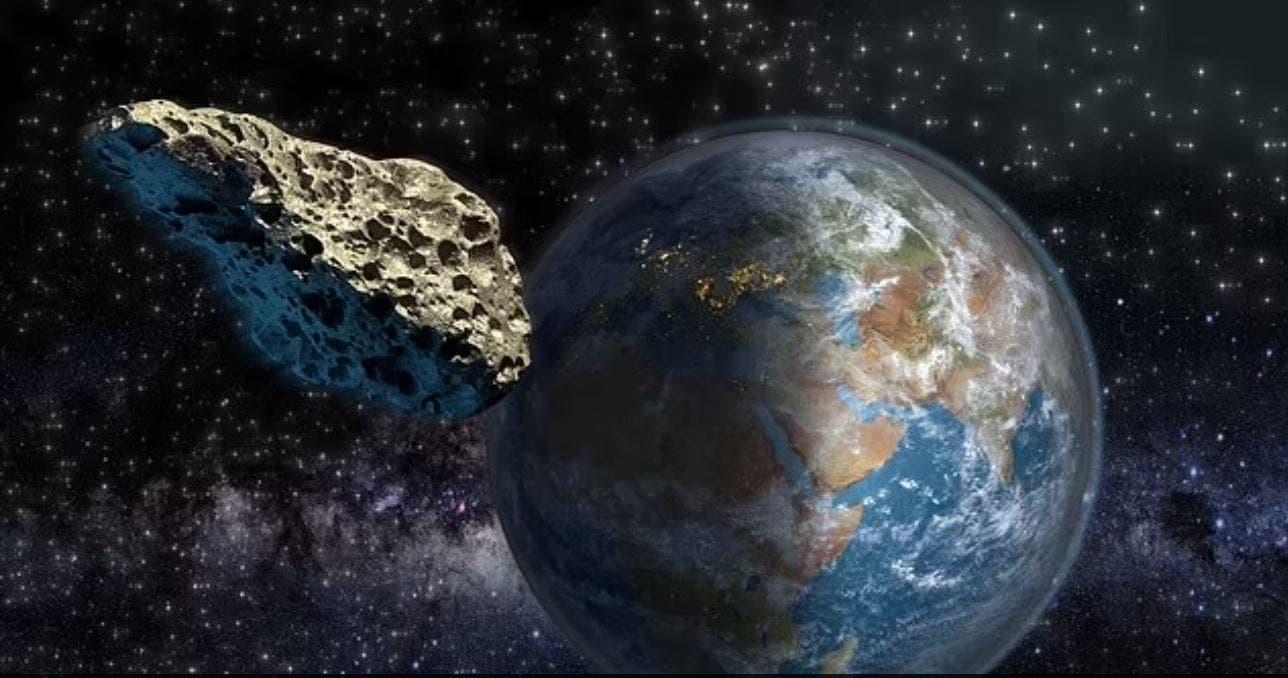 كويكب عملاق يمر بجانب الأرض