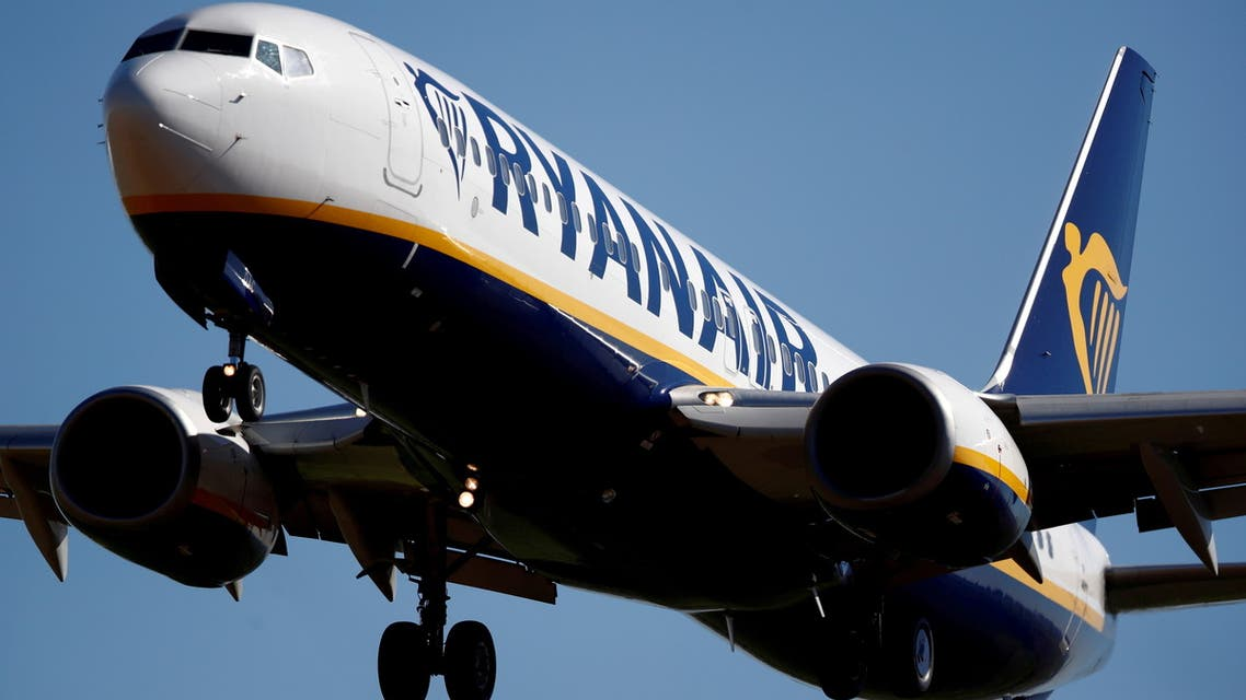A Ryanair Boeing 737-800 aircraft approaches Paris-Beauvais airport in Tille, northern France, September 27, 2018. (File Photo: Reuters)