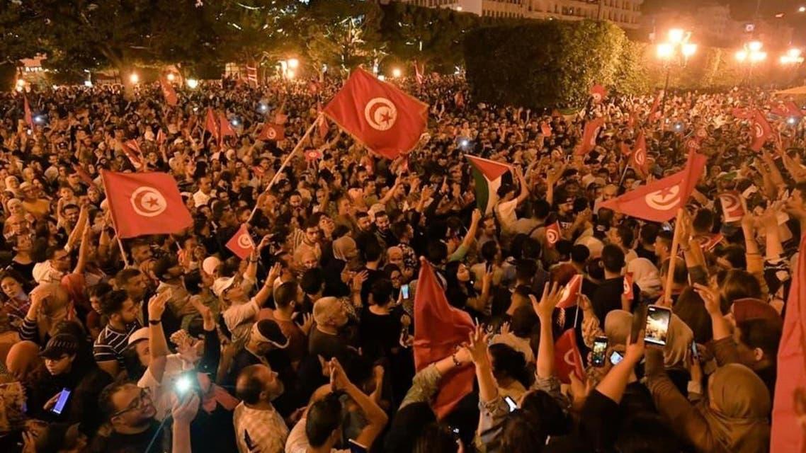 احتفالات تونس