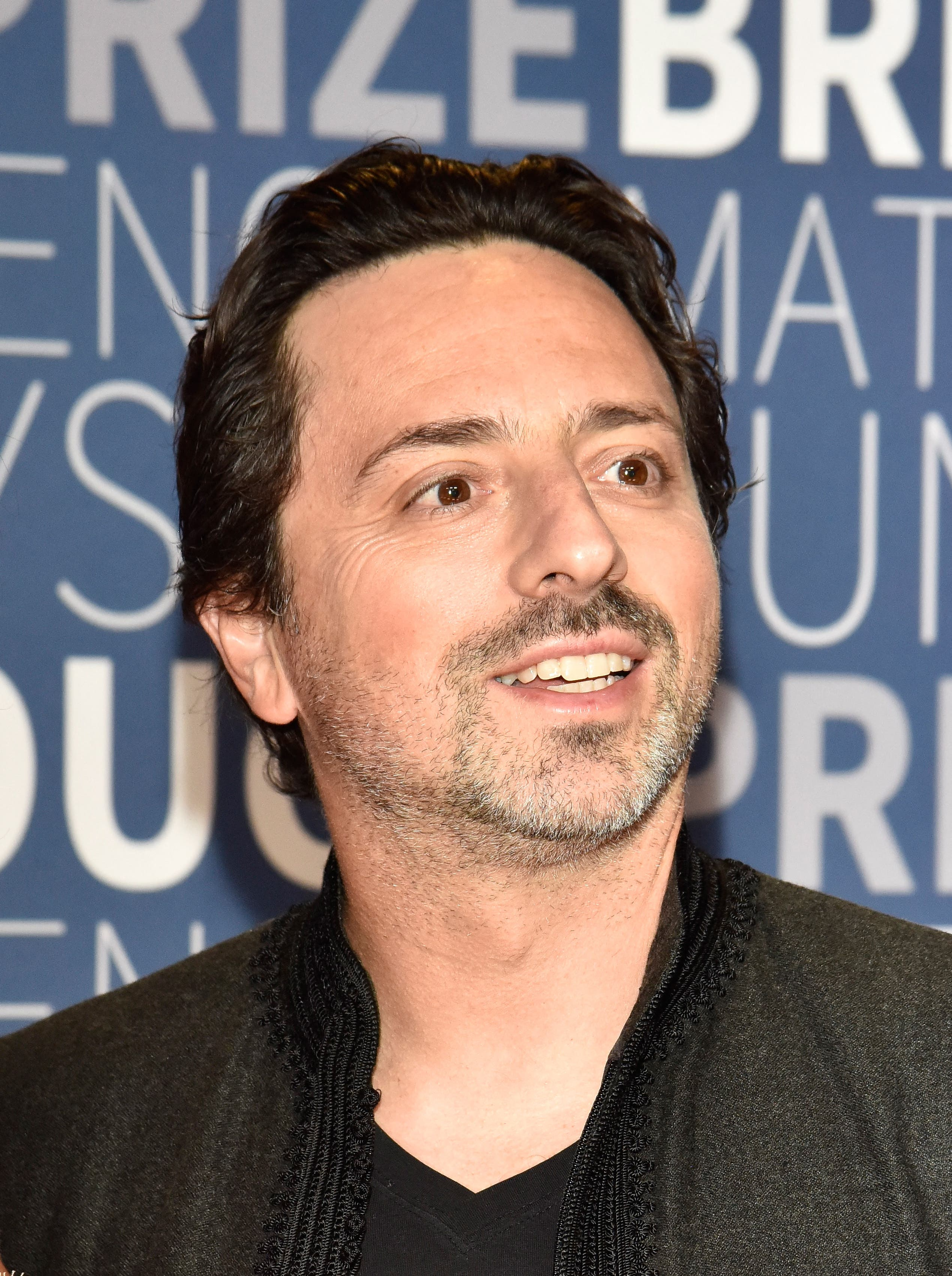 Sergey Brin attend the 2019 Breakthrough Prize at NASA Ames Research Center on November 4, 2018 in Mountain View, California. (File photo: AFP)