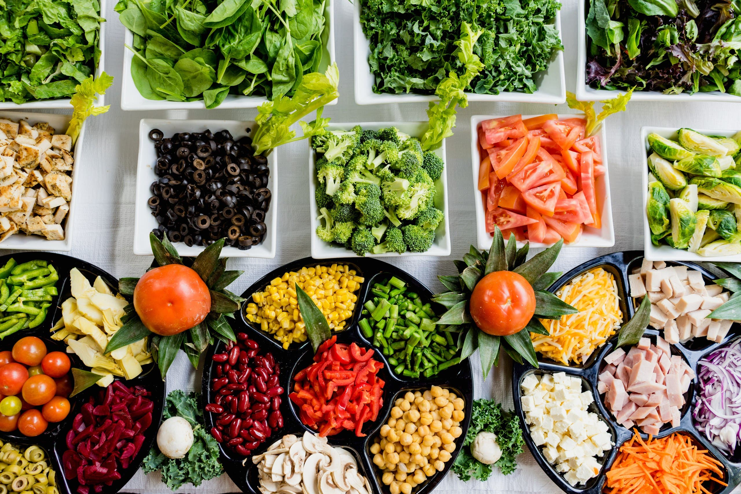 A selection of vegetables such as spinach, carrots and broccoli. (Unsplash, Dan Gold)