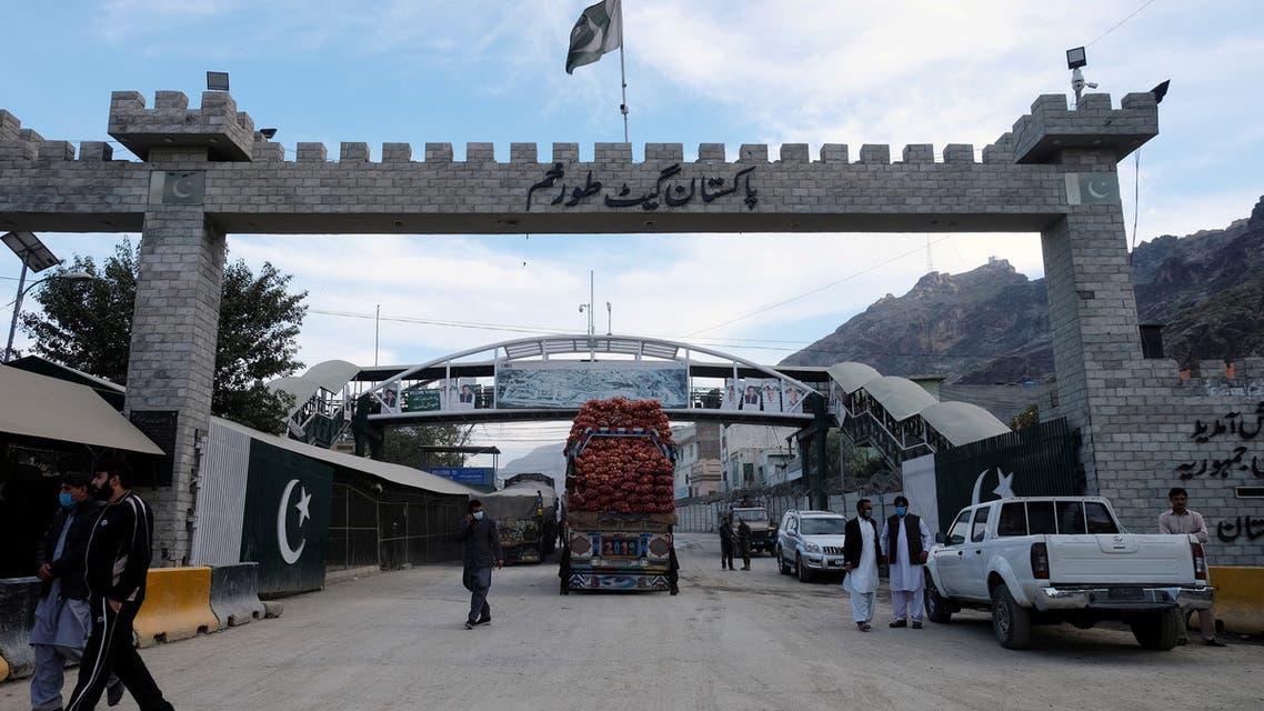 A general view of the border post in Torkham, Pakistan, December 3, 2019. Picture taken December 3, 2019. REUTERS/Alasdair Pal