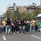 معترضان در تهران با شعار «مرگ بر دیکتاتور» به خیابان آمدند