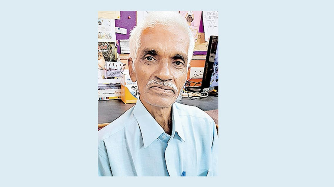 Sajjid Thangal, a 70-year-old Indian man who was an events organizer in the United Arab Emirates will be reunited with his family this week, 45 years after they thought he had died in a plane crash which departed from Abu Dhabi. (Supplied)