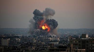 انفجار ضخم بمستودع للذخيرة يتبع للفصائل العسكرية في ريف إدلب