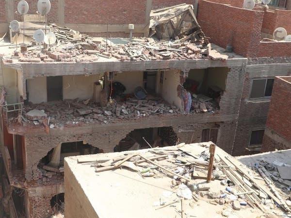 انهيار مبنى في مصر.. مقتل رجل والبحث جارٍ عن مفقودين