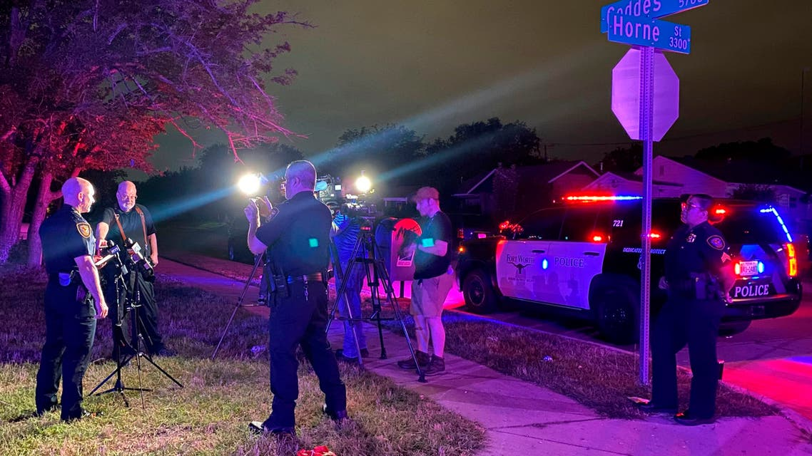 In this photo on Twitter released by the Fort Worth Police, Fort Worth Police Chief Neil Noakes holds a news briefing at the site of a shooting early Sunday, July 4, 2021, in Fort Worth, Texas. (File photo: AP)