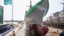 Saudi Navy unveils latest warship 'Jazan' during ceremonial launch in Spain