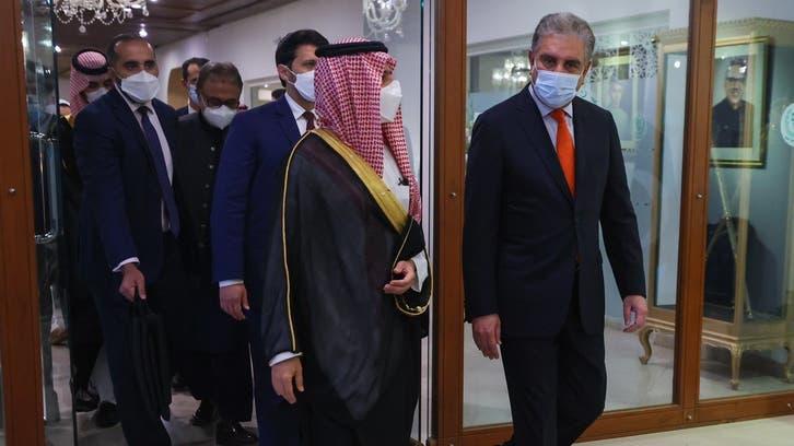 Saudi Arabia FM, Pakistani counterpart discuss bilateral relations in Islamabad