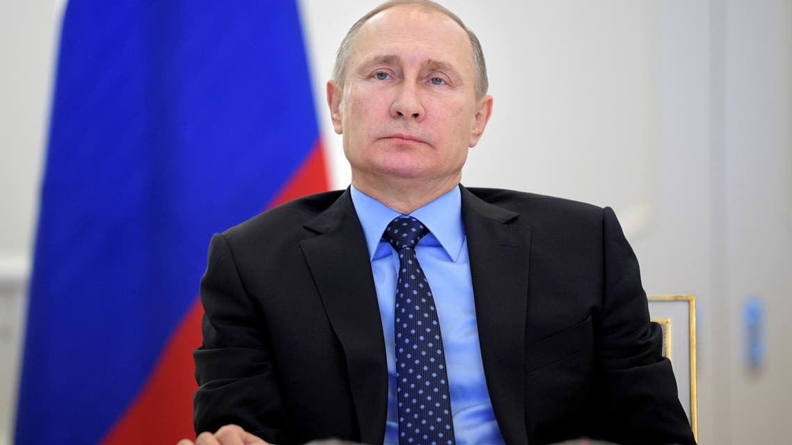 Russian President Vladimir Putin takes part in a video link in Moscow, Russia, December 27, 2016. Sputnik/Alexei Druzhinin/Kremlin via REUTERS ATTENTION EDITORS - THIS IMAGE WAS PROVIDED BY A THIRD PARTY. EDITORIAL USE ONLY/File Photo