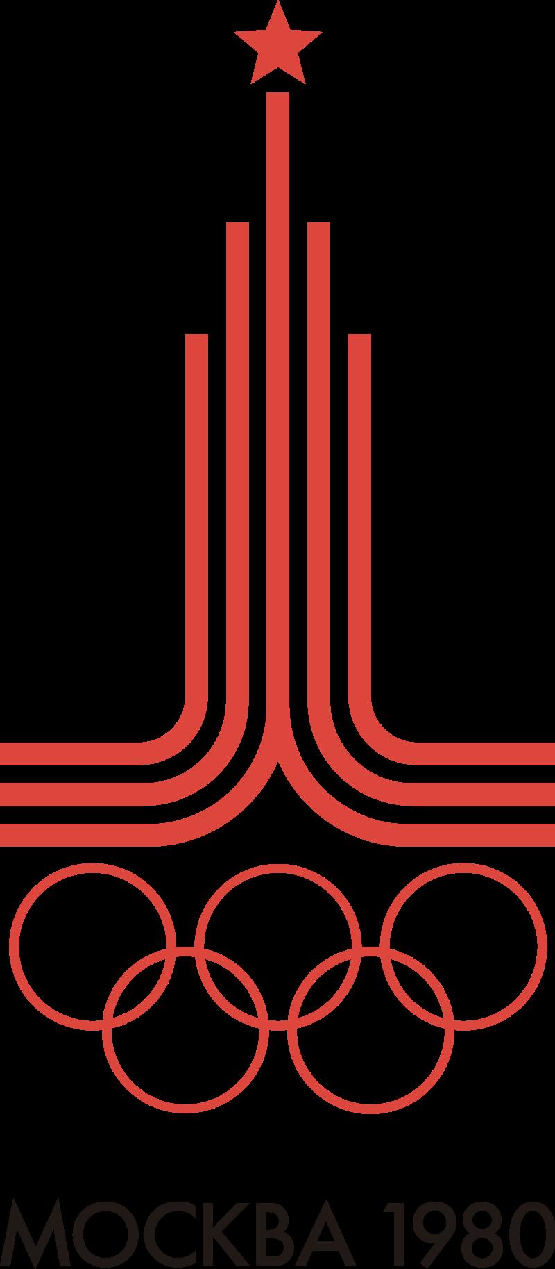 رمز الألعاب الأولمبية موسكو 1980