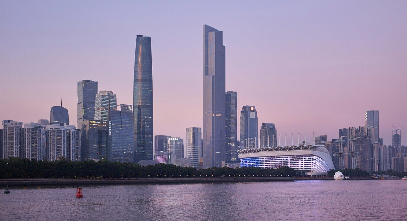 China's Guangzhou CTF Finance Tower. (Supplied)