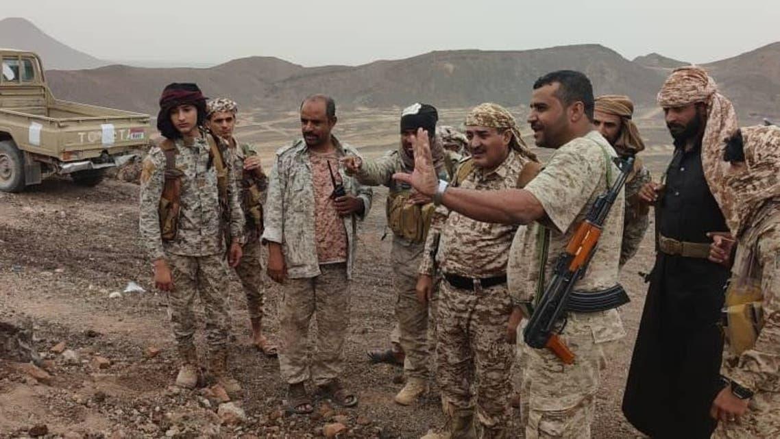 عناصر من الجيش اليمني في مأرب - المركز الإعلامي للقوات اليمنية المسلحة