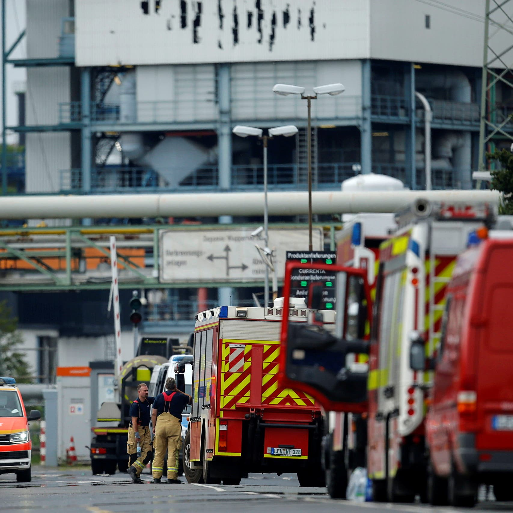 Germany explosion in industrial park kills two, several missing