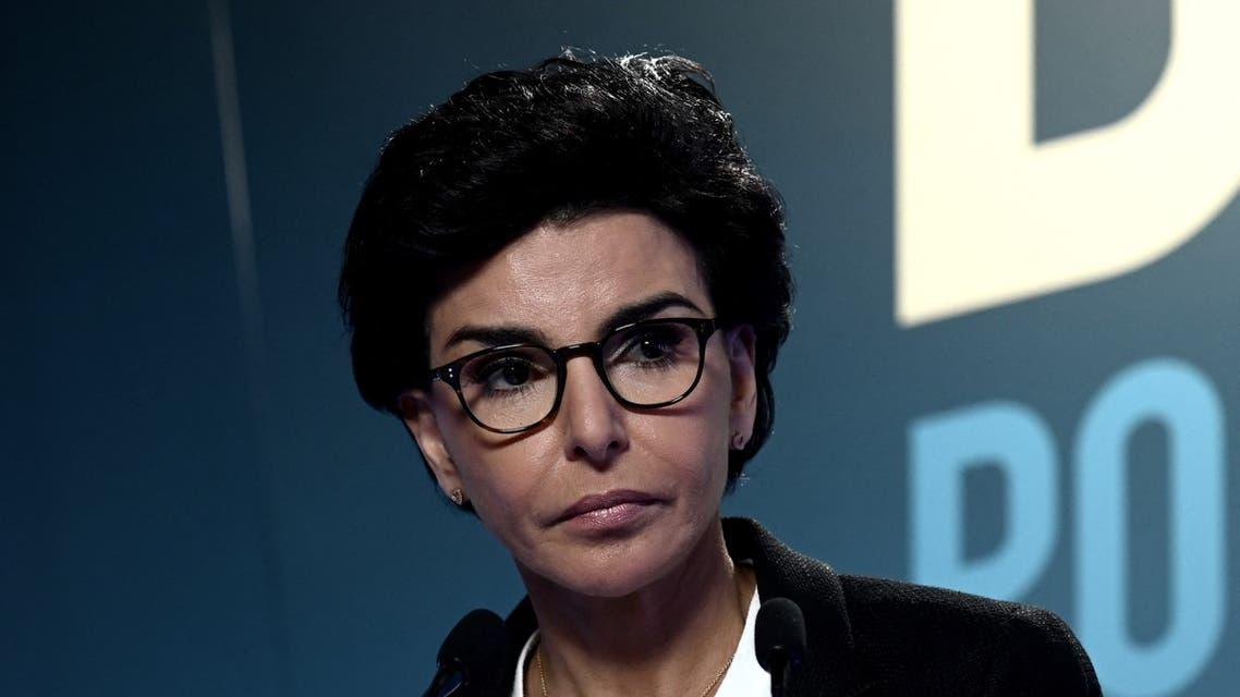 وزير العدل الفرنسية السابقة رشيدة داتيي (أ ف ب)