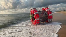 Iranian in giant hamster wheel washes up on Florida coast