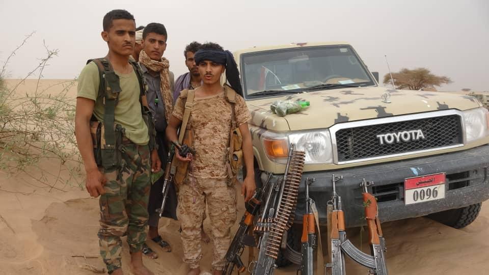 عناصر من الجيش اليمني في مأرب