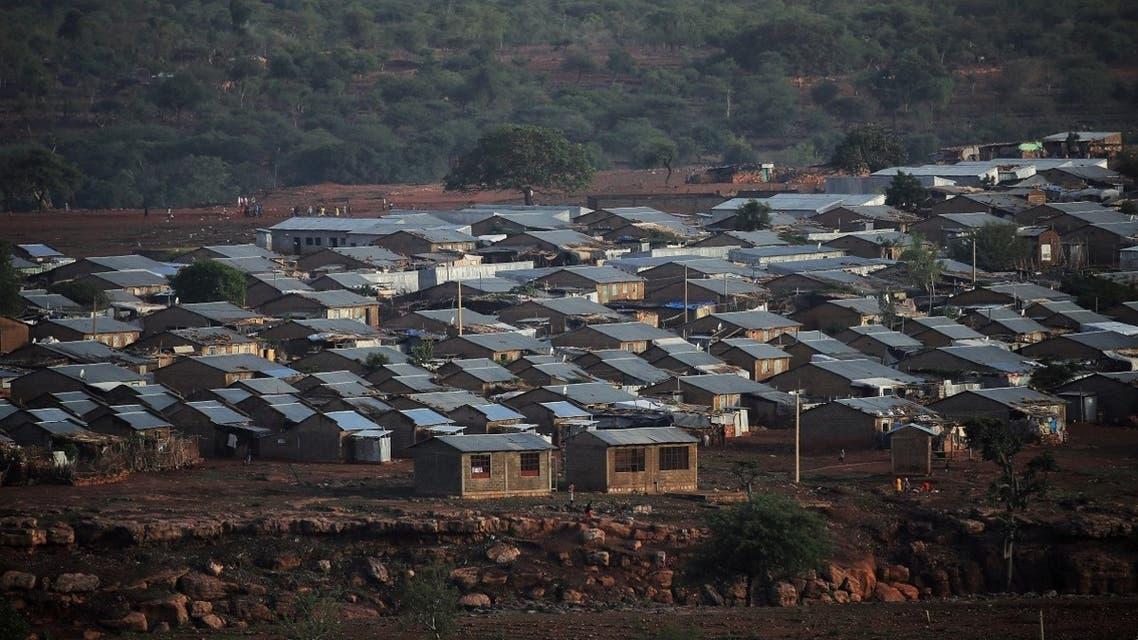 A general view shows Mai Aini Eritrean Refugee camp near Mai Tseberi town in Tigray Region, Ethiopia, June 26, 2021. (Reuters/Tiksa Negeri)