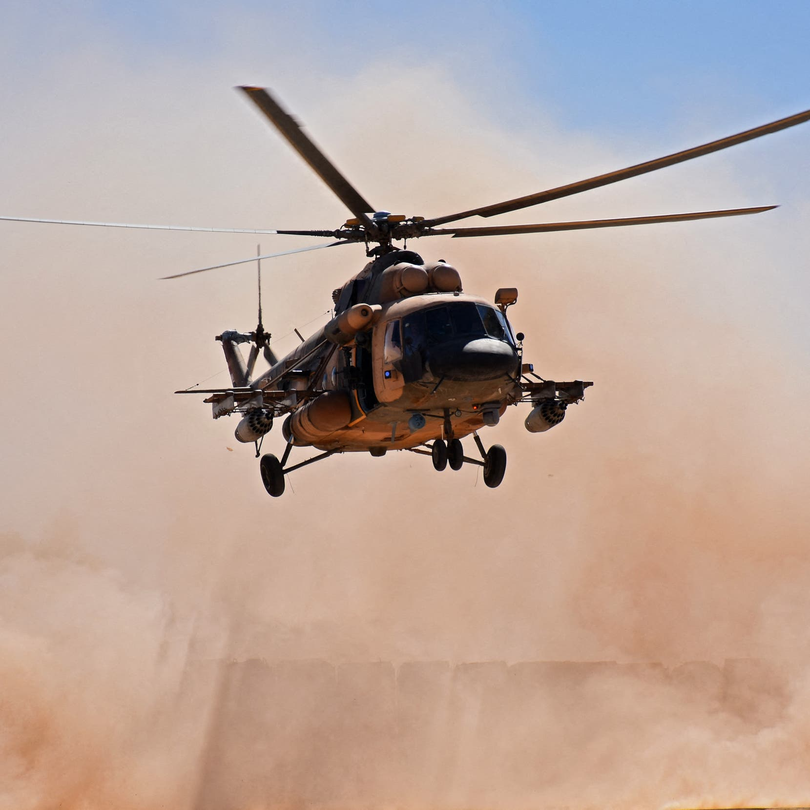 Five killed in helicopter crash during 'combat mission': Iraq military