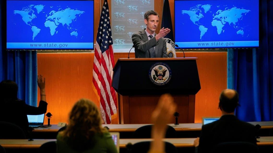 المتحدث باسم الخارجية الأميركية نيد برايس (أرشيفية من رويترز)
