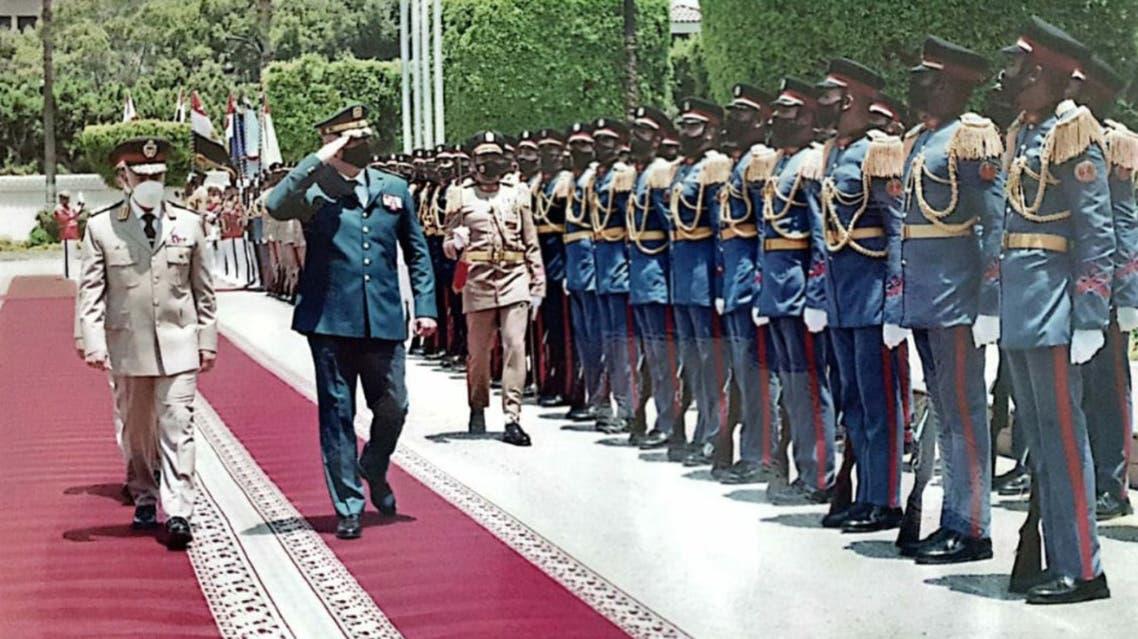 قائد الجيش اللبناني جوزيف عون في مصر لبنان السيسي