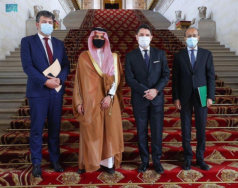 بازدید شاهزاده فيصل بن فرحان از مجلس سنای فرانسه