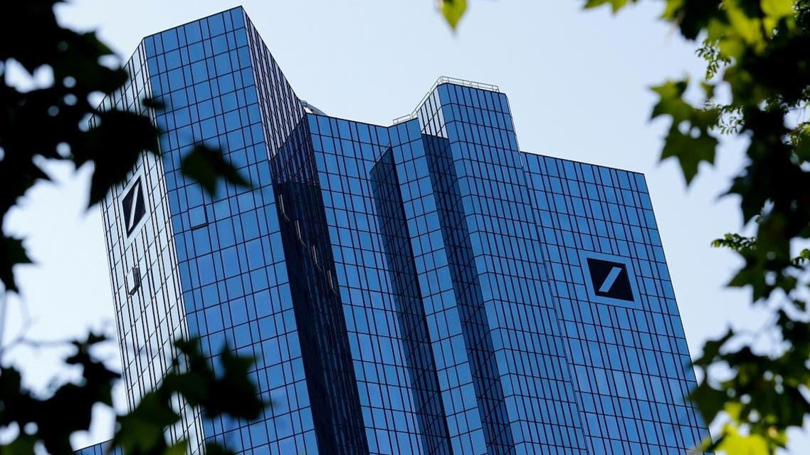 The headquarters of Germany's Deutsche Bank are pictured in Frankfurt, Germany. (Reuters)
