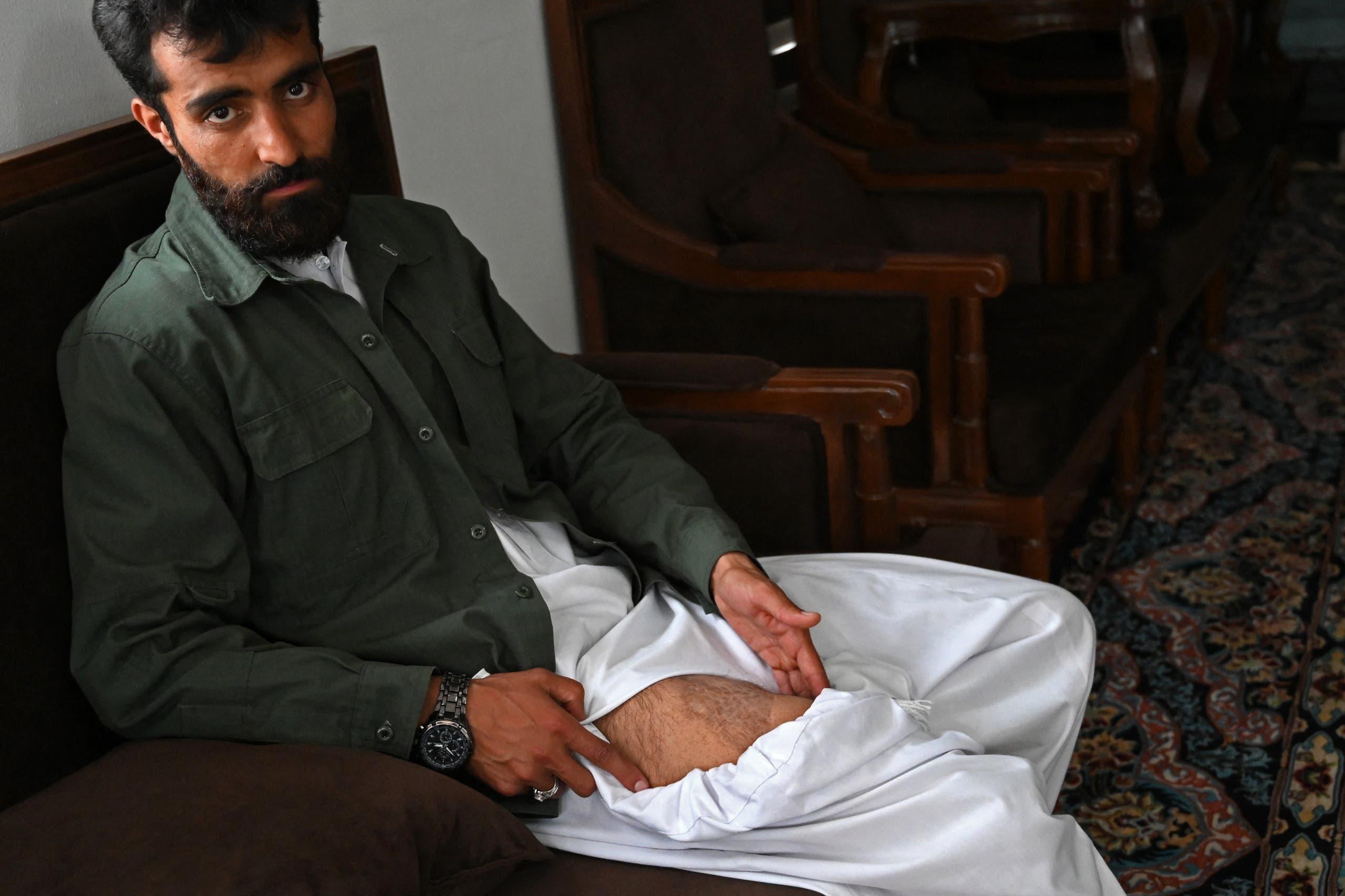 مترجم أفغاني عمل مع القوات الأميركية بين عامي 2009 و20013 يكشف عن الإصابات التي لحقته بسبب القتال (أرشيفية)