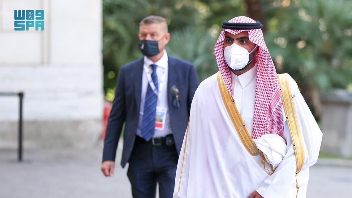 وزير الثقافة السعودي الأمير بدر بن عبدالله بن فرحان