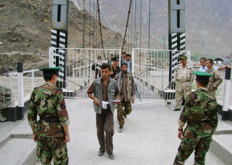 معبر حدودي بين طاجيكستان وأفغانستان (أرشيفية)