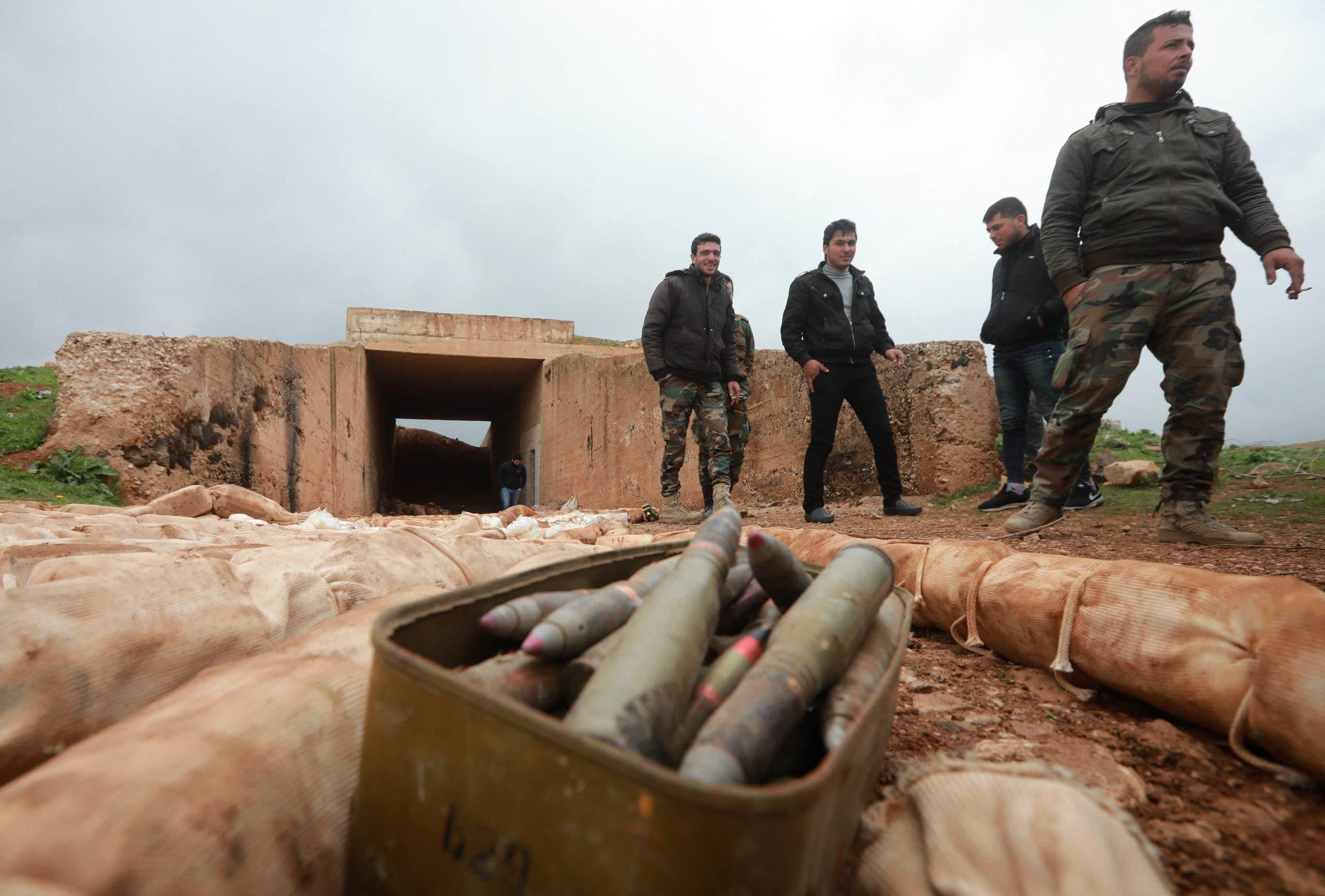 عناصر من قوات النظام في درعا في 2019 (أرشيفية)