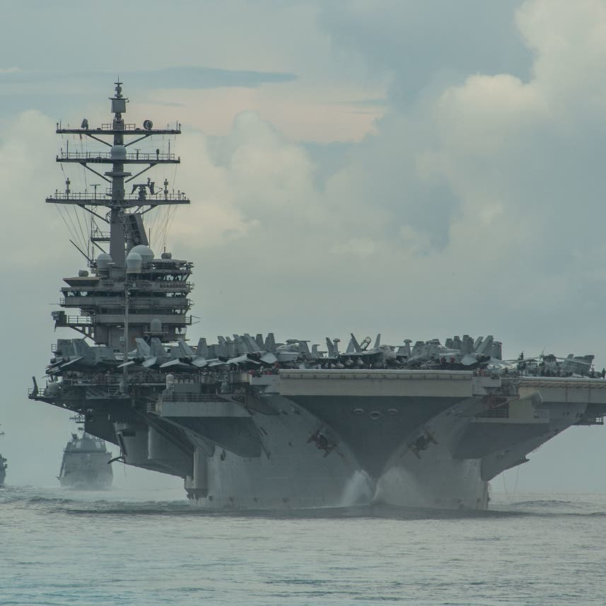 US Navy has boarded attacked Israeli tanker, USS Reagan accompanying ship