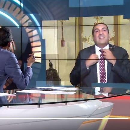 شاهد انسحاب عمرو خالد من أستوديو العربية حين سئل عن علاقته بالإخوان