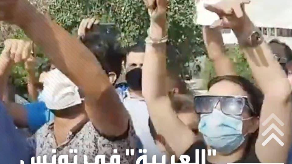 رصدت لحظة بلحظة أحداث الشارع.. العربية في تونس من الشرارة حتى