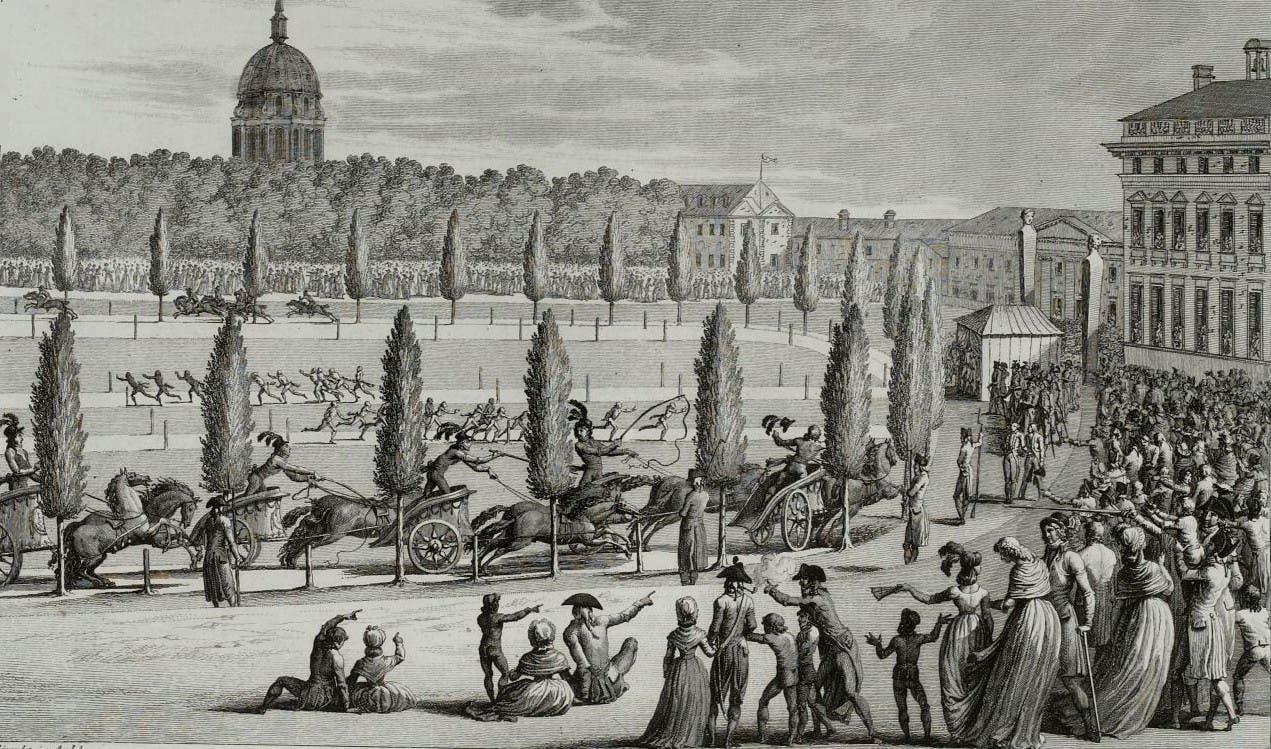 رسم تخيلي لأولمبياد العام 1796