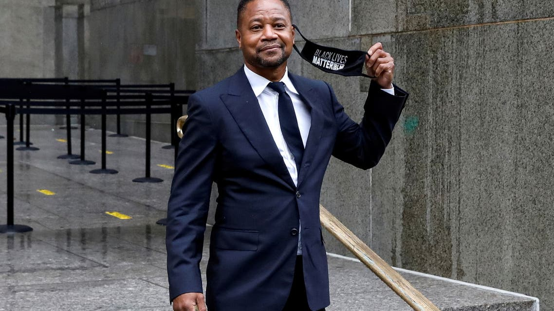Actor Cuba Gooding Jr. departs after a hearing at New York Criminal Court in the Manhattan borough of New York City, New York, US, August 13, 2020. (File Photo: Reuters)