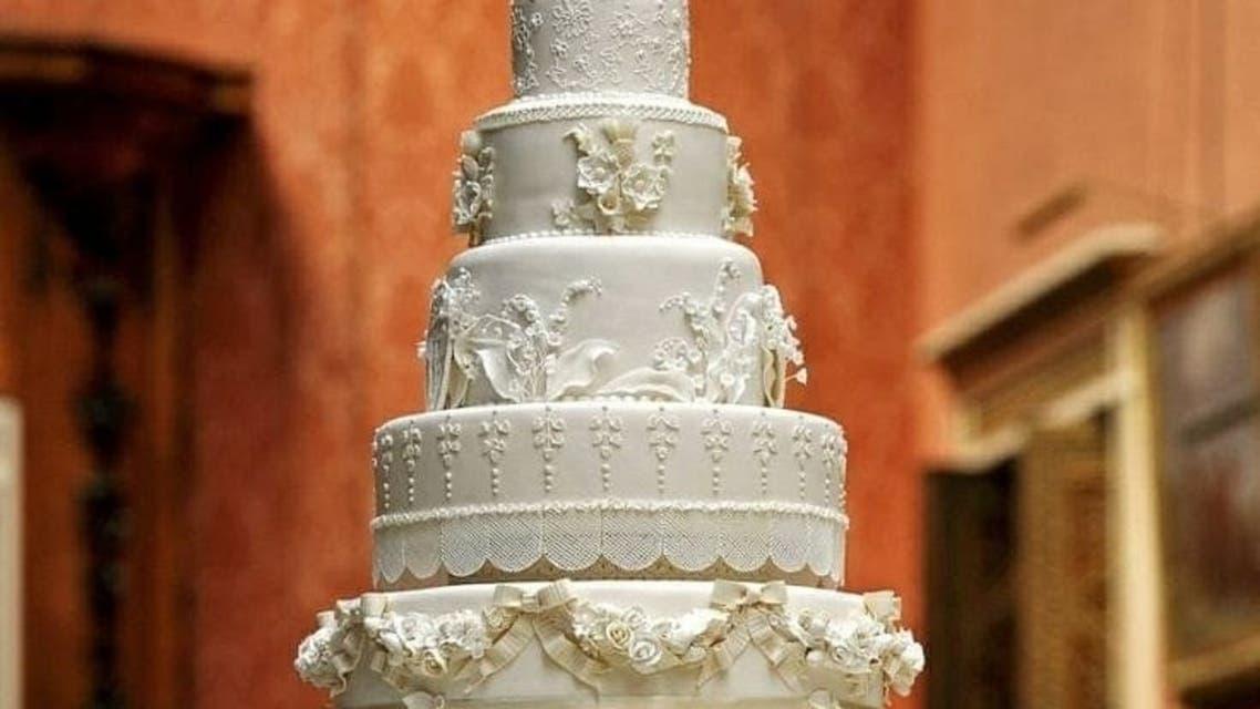 کیک عروسی شاهزاده ویلیام و کیت میدلتون