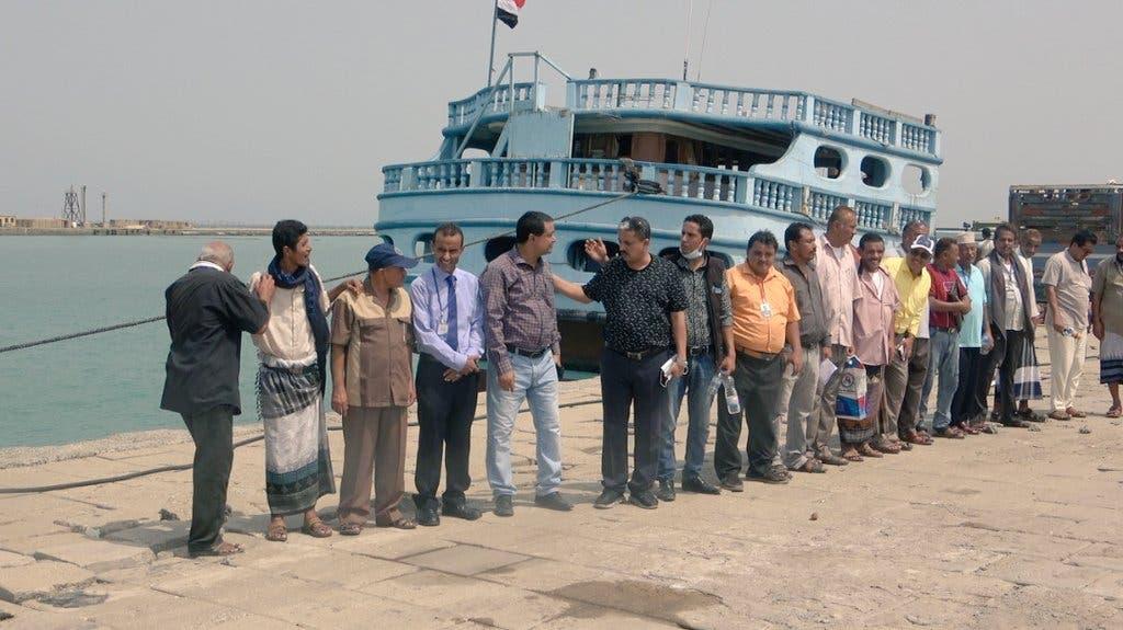 من ميناء المخا التاريخي في اليمن