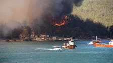 Turkey evacuates tourists by boat from wildfires raging in Aegean resort of Bodrum