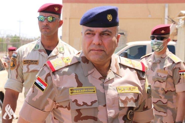 قائد عمليات بغداد الفريق الركن أحمد سليم