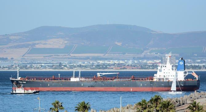 السفينة التي تم استهدافها بمسيرات إيرانية قبالة عمان