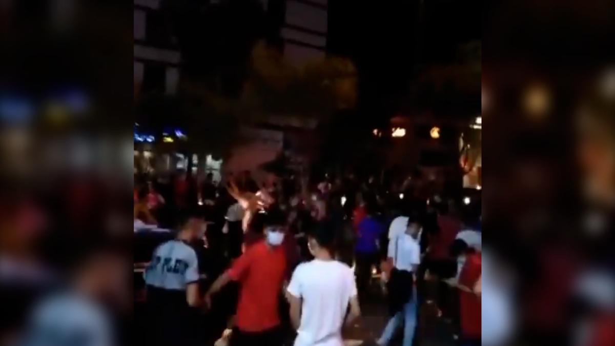 Iran soccer celebrations turn into anti-government protests