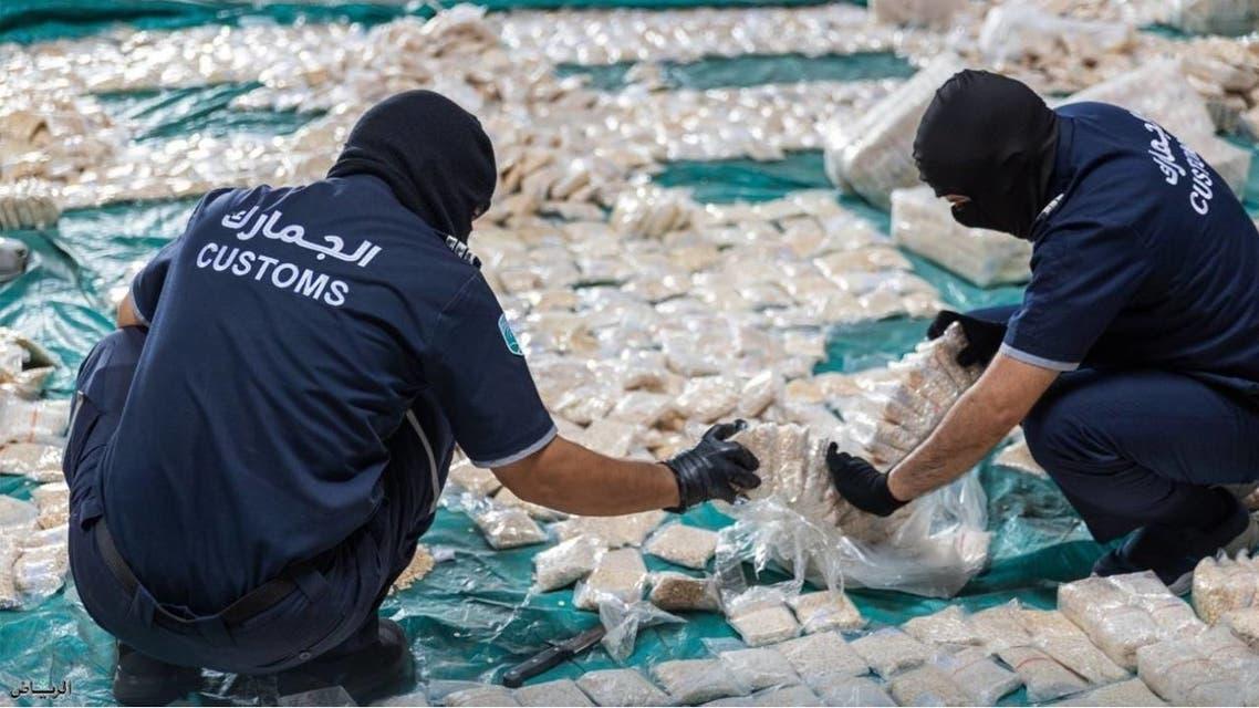 Captagon smuggling of 8.7 million narcotic pills through Jeddah Islamic port failed